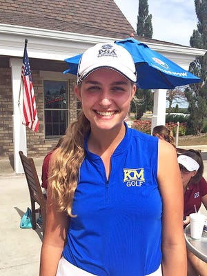 K.ettle Moraine's Abby Cavaiani competed at a U.S. Women's Open sectional qualifier May 7 at Elgin Country Club in Illinois. After shooting an incredible 60 during the Classic 8 championship meet, Cavaiani finished as the 2017 WIAA Division 1 state runner-up.