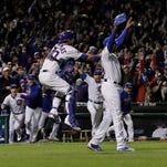 Cubs beat Dodgers 5-0 to reach 1st World Series since 1945