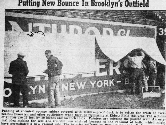 This NEA wire photo ran in the April 8, 1948 Lancaster