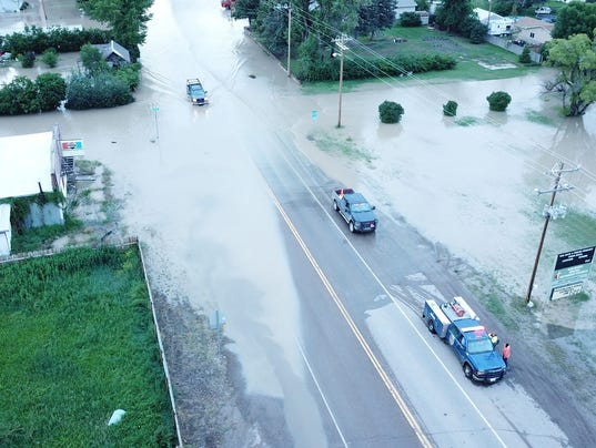 Montana Flooding: Road closures in Cascade County