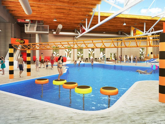 New Indoor Pool Complex At Hershey Lodge