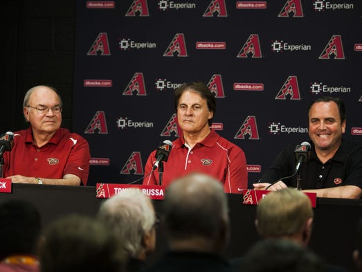 USA TODAY Sports unveils its latest MLB Power Rankings. What impact will the newly hired Tony La Russa have on the Diamondbacks? Records through May 18, 2014. Previous ranking in parenthesis.