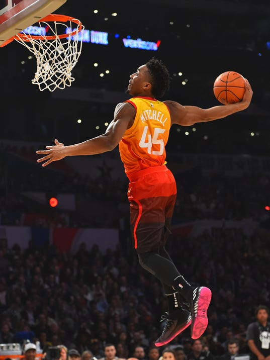 Donovan Mitchell is a star in the making, but is he Rookie ...