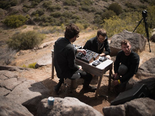 Intimate performances like this one tend to pop up on a whim at FORM Arcosanti.