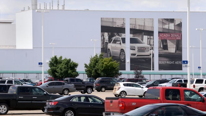 GM's Lansing Delta Township Assembly plant will close for a month as it phases out the GMC Acadia and prepares to launch the new generation Chevrolet Traverse and Buick Enclave.