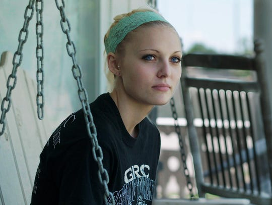 "Daisy Coleman in a scene from ""Audrie and Daisy."""