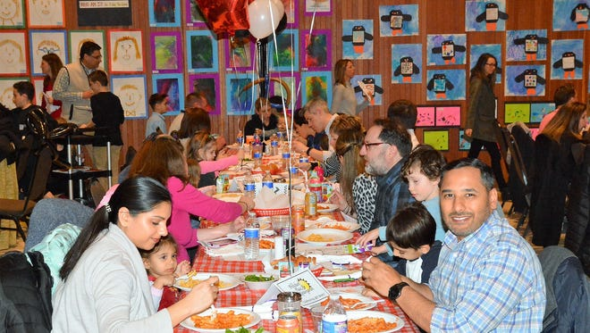 The Preschool Place & Kindergarten, in Bridgewater, celebrated its 40th Anniversary with a Pasta Dinner and Student Art Show on March 15.