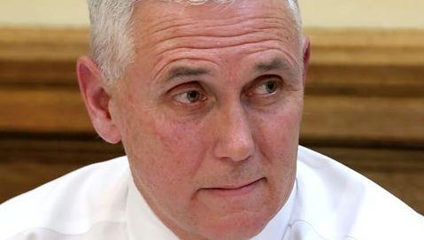 Gov. Mike Pence will undergo hernia surgery on Friday, Aug. 14, 2015. He is expected to be discharged from St. Vincent Indianapolis Hospital the same day.