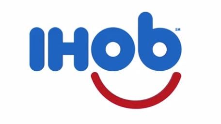 "IHOP tweeted Wednesday morning a short video that depicts the IHOP logo flipping its ""P"" into a ""B"" with the promise of a name change on the way."