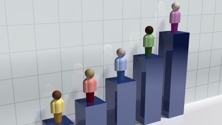 Stock Demographic Bar Chart