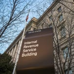 The Internal Revenue Service Headquarters (IRS) building is seen in Washington.