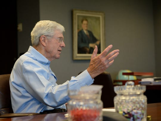 Charles Koch, chairman and CEO of Koch Industries,