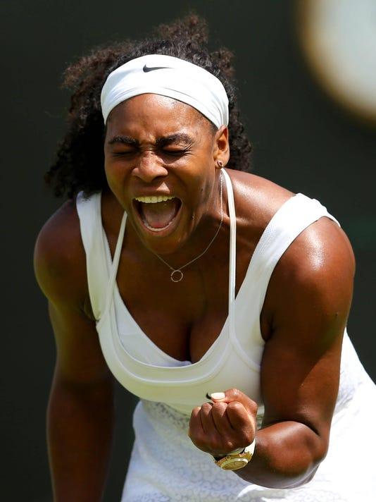 Djokovic, Wawrinka, Serena start Wimbledon with solid wins