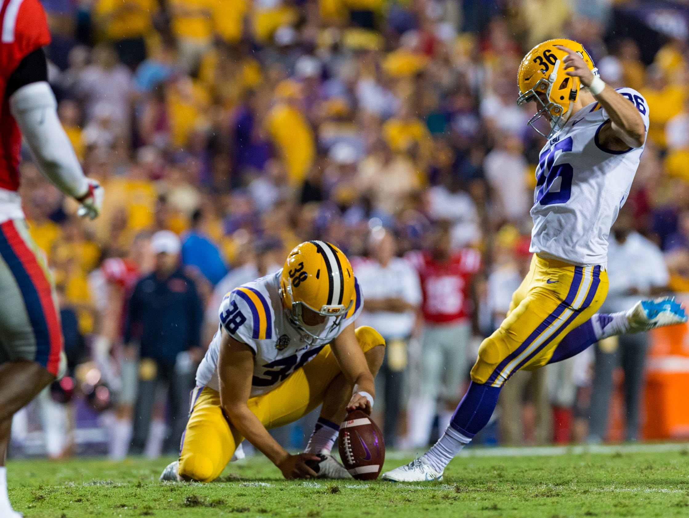 LSU Football Kicker Trolls Auburn After LSU Baseball's