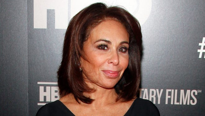 "In this Jan. 28, 2015 file photo, Jeanine Pirro attends the HBO Documentary Series premiere of ""THE JINX: The Life and Deaths of Robert Durst"" in New York. Pirro, host of the Fox News Channel show ""Justice with Judge Jeanine,"" was issued a speeding ticket for going 119 mph in a 65 mph zone."