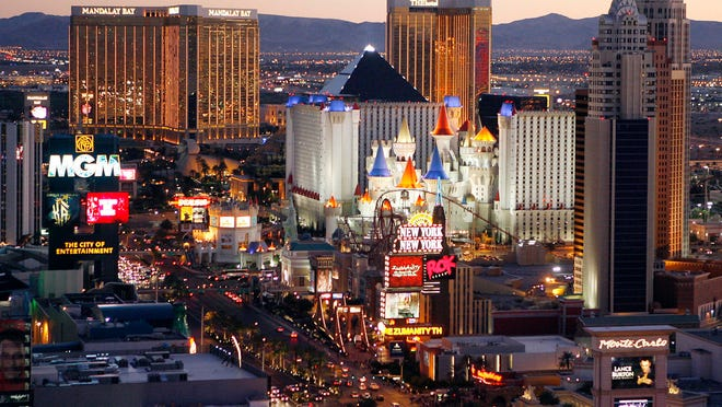 Casinos on the Las Vegas Strip have helped Nevada's gambling industry hit a September record.