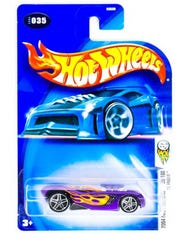This undated image provided by Mattel shows images of the company's Hot Wheels toy cars.