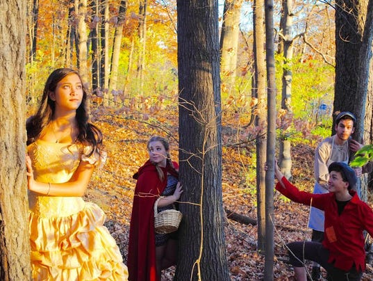 inot the woods publicity pics