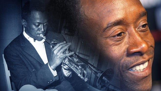 """Actor Don Cheadle will portray jazz great Miles Davis in """"Miles Ahead."""""""