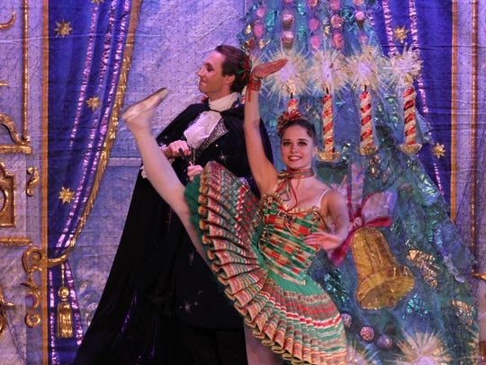 """The Theatre at Raritan Valley Community College in Branchburg will present Moscow Ballet's """"The Great Russian Nutcracker"""" on Dec. 8."""