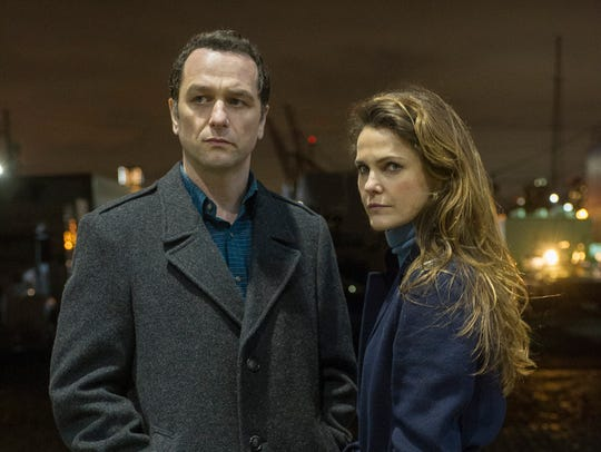 Matthew Rhys and Keri Russell in the final season of