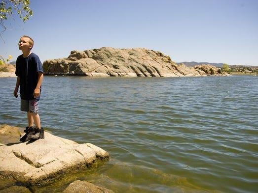 Al norte de Arizona se encuentra este lago con brisas