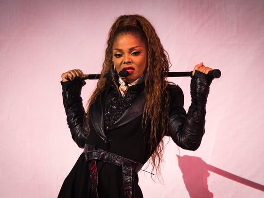 Janet Jackson performed her State of the World Tour