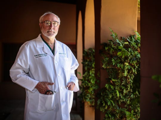 Dr. Frank Ercoli, Desert Regional Medical Center trauma surgeon. Photo taken at Desert Regional on July 13, 2016 at Desert Regional Hospital in Palm Springs. Ercoli was on call during the girl scout bus crash almost 25 years ago.