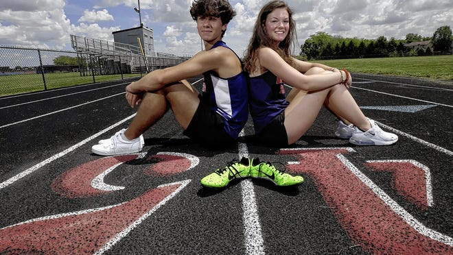 Grove City seniors Spencer Markham and Gracie Yates, both four-year letterwinners, were looking forward to their final season with the Grove City track and field team before spring sports were canceled because of the COVID-19 coronavirus pandemic.