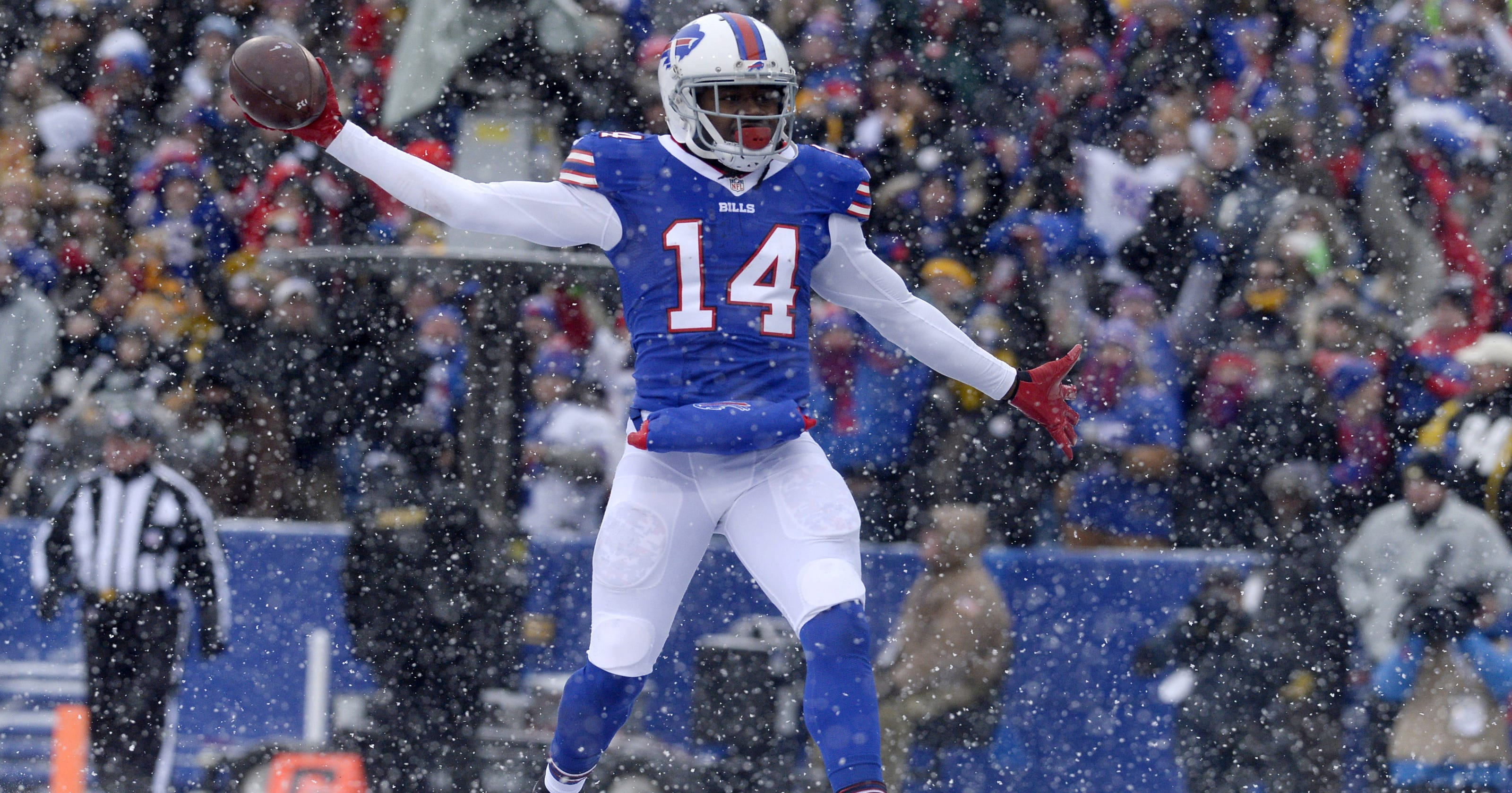 the best attitude 58d63 bc480 Buffalo Bills decline fifth-year option on Sammy Watkins
