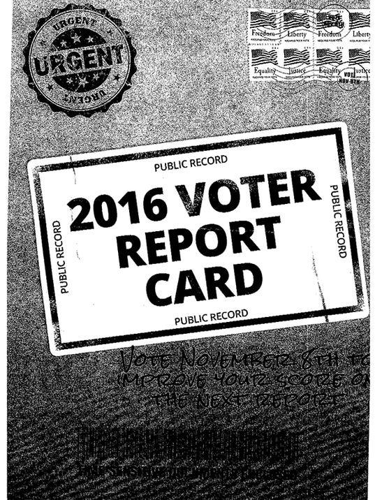 Voter report card