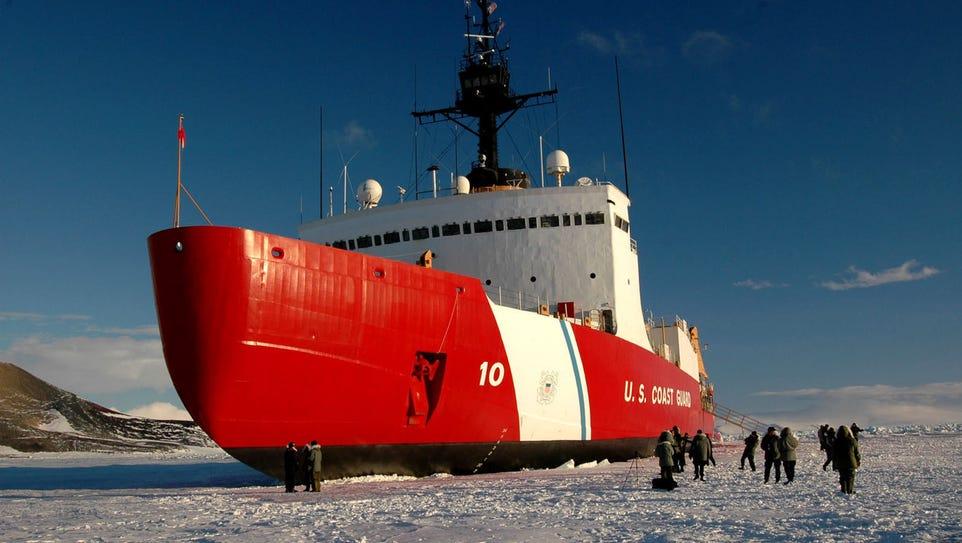 The Coast Guard Cutter Polar Star, seen here in 2006