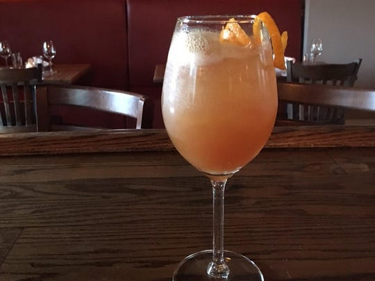 The Sunburst mocktail from the Grand Tavern in Neptune, New Jersey.