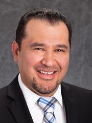 Charlie Castillo, new chief nursing officer for Providence's Sierra hospital campus.