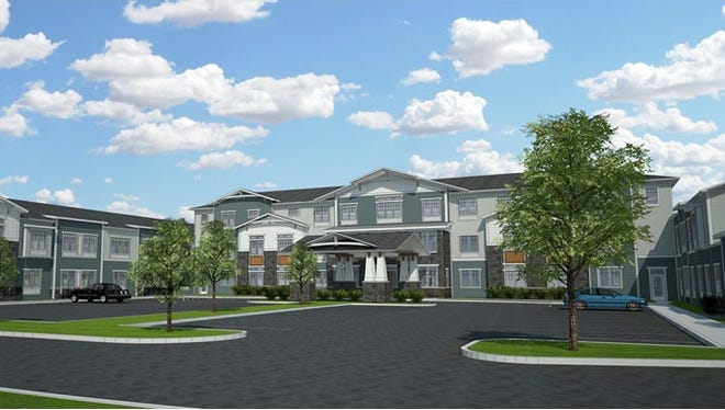 Artist rendering of the Traditions at North Bend senior living community expected to open in Green Township in 2019.