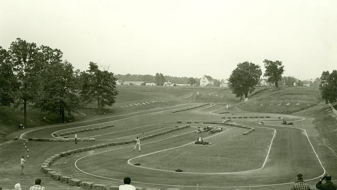 Karting Kettles, Elkhart Lake, May, 1960.