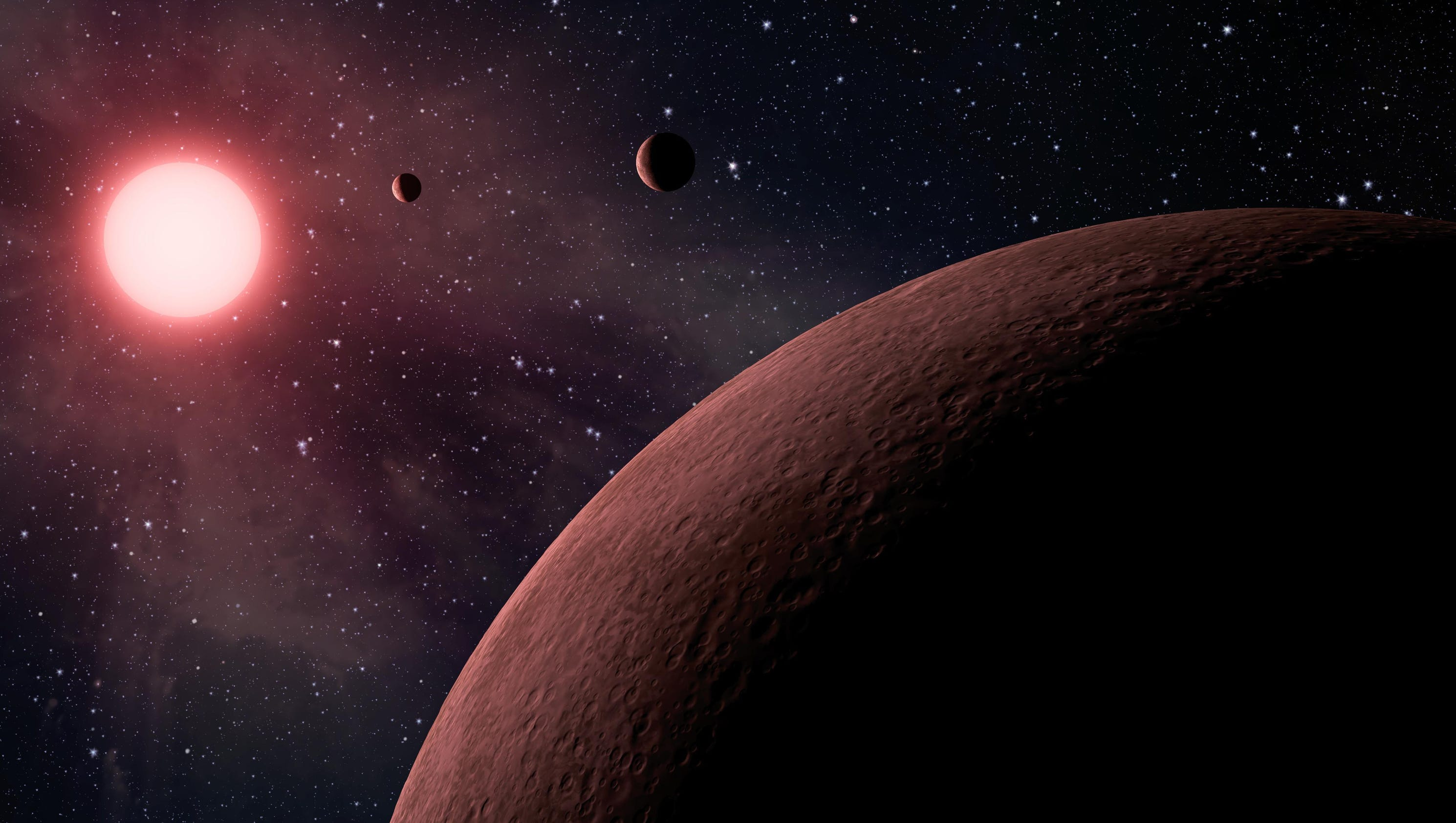 NASA reveals 10 new planets that could have life discovered