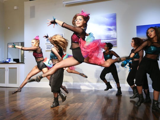 Dancers from Coupe Dance Studio perform during the Bridging Art event to benefit Volunteer New York! held at Union Arts Center in Sparkill on Tuesday, September 26, 2017.