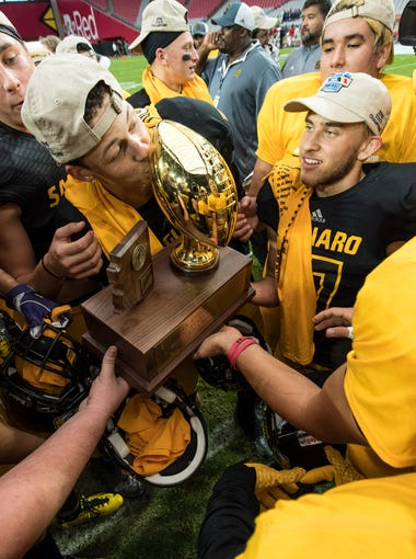Take a look at the schools that have won titles in high school football in Arizona since 1985, listed in order of championships.