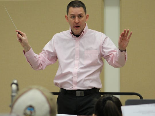 McMurry University Director of Bands David Robinson