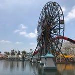 Incredicoaster at Disneyland's Pixar Pier