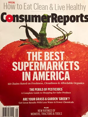 Wegmans finished atop Consumer Reports' rankings of the best supermarkets in America.