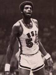 Roy Ebron (1970-73) was one of the best scorers and