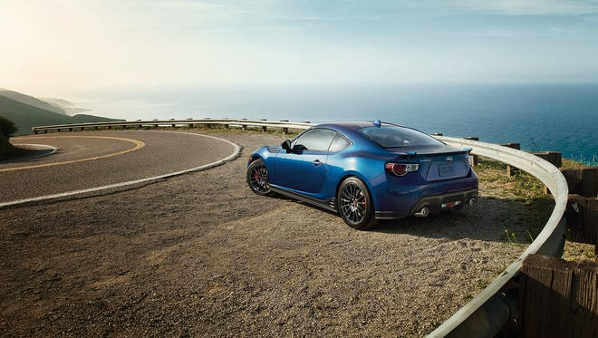 Base price for the 2015 Subaru BRZ Series Blue is $25,695
