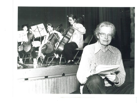 Carolyn Long guided the Vermont Youth Orchestra from