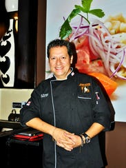 Rafael Rottiers, Inca's Kitchen owner and chef, at
