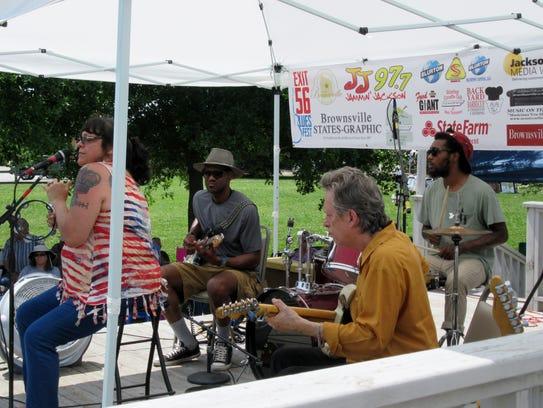 Music fans enjoyed the Exit 56 Blues Fest on Sunday