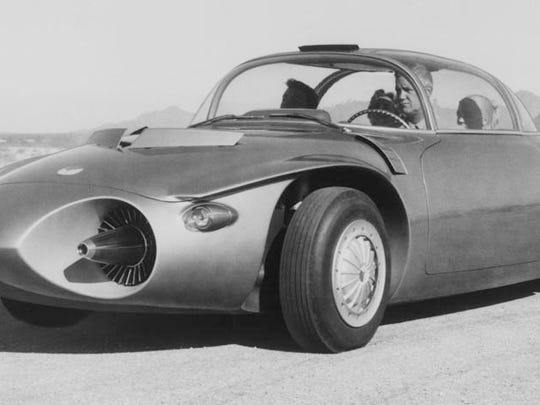 1956 GMC Firebird II Titanium is a concept vehicle