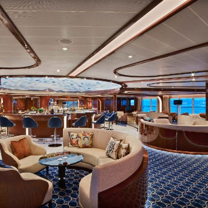 The sexiest ship at sea? Top designer goes curvy with Seabourn Encore