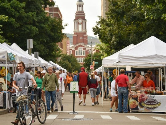 The first weekend in May will mark the first Saturday of the year for the Market Square Farmer's Market, which will run from 9 a.m. to 2 p.m.